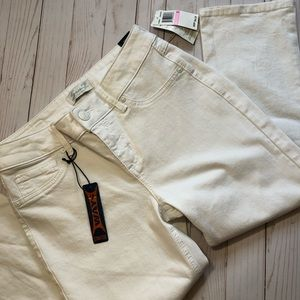 Seven7 Skinny Stretch White Denim